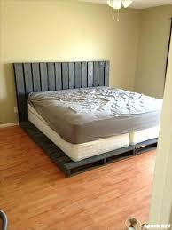 pallet bed frame queen pallet platform bed frame ideas cool diy pallet queen bed frame instructions