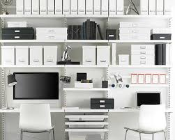 home office organizing. (Image: The Container Store) Home Office Organizing A
