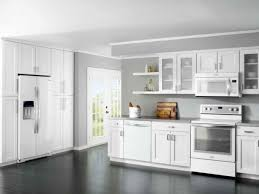 best white kitchen cabinet color schemes for dark wood floors with gray wall paint ideas