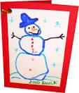 Детские открытки нарисованные