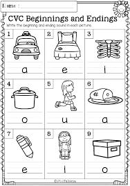 Free Printable Language Arts Worksheets For Kindergarten Vocabulary ...