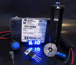 box mod kit 1591a single 18650 blue motley mods llc box mod kit 1591a single 18650 blue motley mods 1