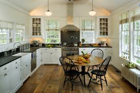 White Kitchens With Wood Floors White Kitchen Wood Floor The Perfect Home Design