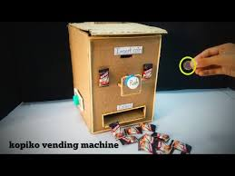 Kopiko Vending Machine Cool How To Make Money Operated Vending Machine Diy Kopiko Vending
