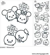 223 Best Tsum Tsum Coloring Pages Images In 2019 Coloring Books