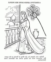 Esther Coloring Pages Awesome Elegant Queen Esther Coloring Pages