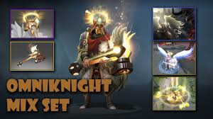 Undying Light Dota 2 Omniknight Best Mix Set The Undying Light Adoring Wingfall Crown Of Sacred Light Infused