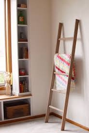 Quilt Rack Ladder | Amish Quilt Racks for Sale | Cherry Wood Quilt Rack