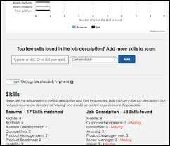 Are Your Resume Keywords Effective Try This Tool To Find Out NG Unique Resume Keyword Scanner