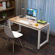 Corner desk office Home Computer Desk Office Desk 47 Dining Table Pc Laptop Study Writing Amazoncom Amazoncom Computer Desk Office Desk 47 Dining Table Pc