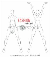 Body Template For Designing Clothes Body Sketch Outline Mannequin Sketch Templates Luxury Women Body