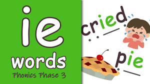 Phonics hero has over 900 online games, 308 worksheets and 10 assessment resources available in the letters and sounds order of teaching, which are completely free for teachers! Ie Words Phonics Phase 3 Youtube