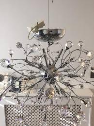 john lewis nebula 24 crystal chandelier ceiling light