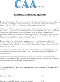 Confidentiality Agreement Templates | Download Free & Premium ...