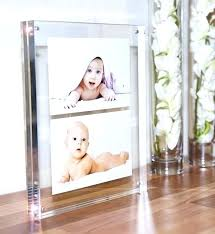 glass picture frames double sided photo frame 8x10 8 x 10 curved beveled
