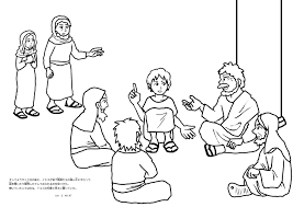 Small Picture Jesus In The Temple Coloring Page esonme
