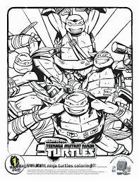 Teenage Mutant Ninja Turtles Coloring Pages Nickelodeon