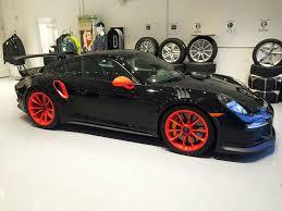 porsche 911 gt3 black. black and orange porsche 911 gt3 rs gt3 s