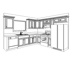 Small Picture Draw Kitchen Layout Cheap Design My Own Kitchen Floor Plan Design