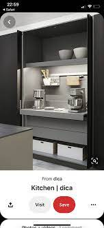 Pin By Cat Attridge On Kitchenette Extension Clever Kitchen Storage Kitchen Remodel Kitchen Storage Solutions