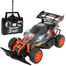 Best Choice Products Kids Remote Control 4-Wheel Buggy Car RC Toy with LED Lights, Charger - Walmart.com