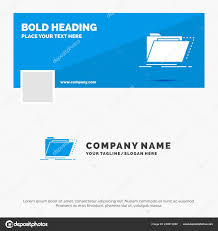 Template For Directory Blue Business Logo Template Archive Catalog Directory Files Folder
