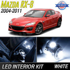 2011 mazda rx8 interior. 20042011 mazda rx8 white led lights interior package kit 2011 rx8
