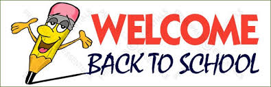 Welcome Back Banner Clipart