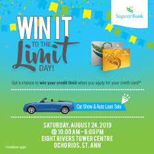 Check spelling or type a new query. Sagicor Group Jamaica Ocho Rios Here We Come Sagicor Bank Is Bringing Win It To The Limit Day To You Join Us At The Eight Rivers Town Centre For A Chance