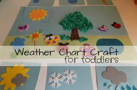 Weather Tree Chart Weather Chart Craft For Toddlers Odd Socks And Lollipops
