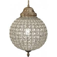 libra company round 036014 small crystal chandelier with brass banded leaf decoration