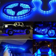 Blue Led Lights For Car Details About Blue Led Lights Bar Lighting Lamp Car Truck Interior Decoration Part Accessories
