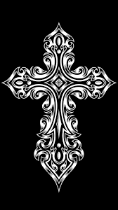 1080x1920 tribal cross high resolution wallpapers for iphone 6 plus black