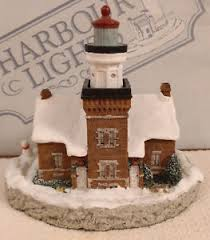 Lighthouse renters insurance renters insurance is available through lighthouse to cover your personal property when you rent a home, apartment, or condo. Harbour Lights Big Bay Point Michigan 1st Christmas Sculpture Signed Vgc Ebay