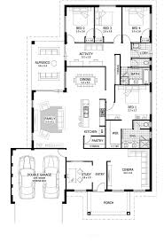 courtyard house plans u shaped indian style two bedroom sq ft traditional home housing india