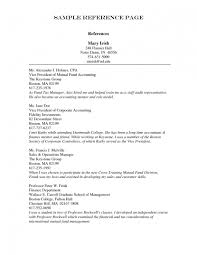 Cv References Format For Resume Sample Reference Example Achievable