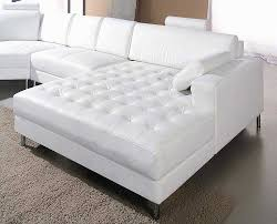 white leather couch. White Leather Snow Sectional Sofa Couch T