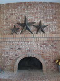 full wall brick fireplace makeover ideas