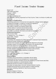 Junior Trader Resume Medium Size Of Resumesales Assistant Job
