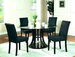 black round kitchen table and chairs glass round dining table for 6 6 black glass small black round kitchen table and chairs