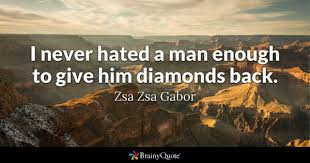 Zsa Zsa Gabor Quotes Custom Zsa Zsa Gabor Quotes BrainyQuote