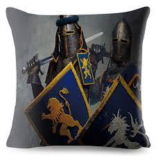 Vintage <b>Halloween Castle</b> Birds <b>Pattern Pillow</b> Cases Cushion ...