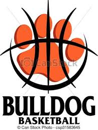 bulldog paw print outline. Plain Outline Bulldog Basketball  Csp31583645 Intended Bulldog Paw Print Outline A