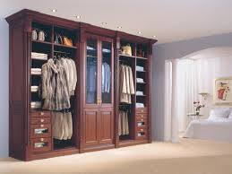 image of beautiful standard bedroom closet dimensions