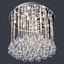 crystal globe chandelier ceiling lights