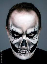 you will find posts about lyma s extreme beauty work face and body paint lymari millot serious skeleton