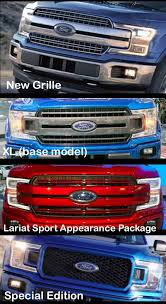 2018 ford lariat special edition. wonderful lariat all the 2018 ford f150 grilles explained for ford lariat special edition