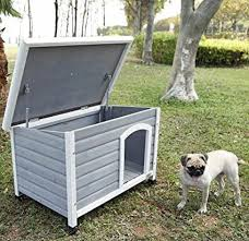 petsfit 33 7 x 22 6 x 22 9 inches wooden dog houses