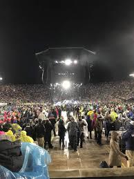 Notre Dame Stadium Seating Chart Garth Brooks Notre Dame Stadium Section 19 Row 6 Seat 16 17 Garth