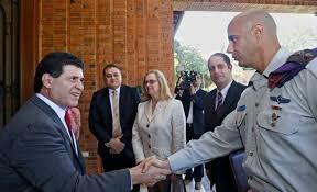 Resultado de imagen para militares del mossad en paraguay